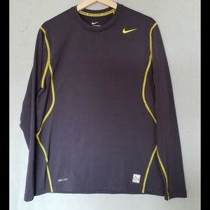 Women sports exercise top by Nike Pro Combat